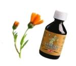 «Бальзам для волос»- 100% натуральный продукт, содержащий масляные экстракты корня лопуха, цветков календулы, шишек хмеля, листьев крапивы